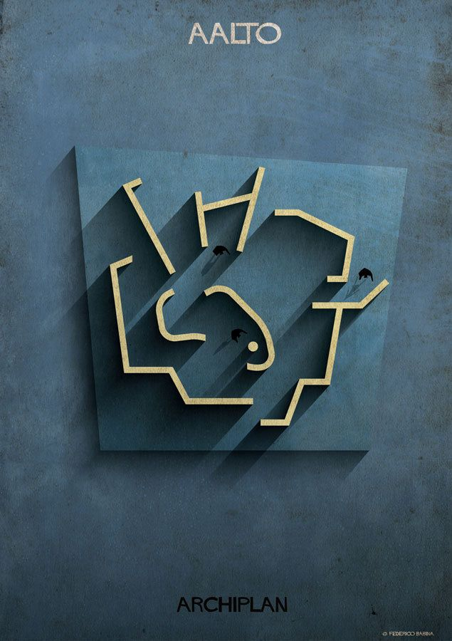 Gallery of Federico Babina's ARCHIPLAN Illustrations Analyze the Floorplans of Master Architects - 8