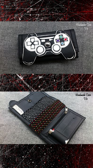 Play Station controller..Who Wants To Play?! Tobacco Case with Synthetic Leather https://www.facebook.com/Vassoartistiko