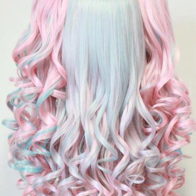 Pastel Chalked Hair - Amazing Technique
