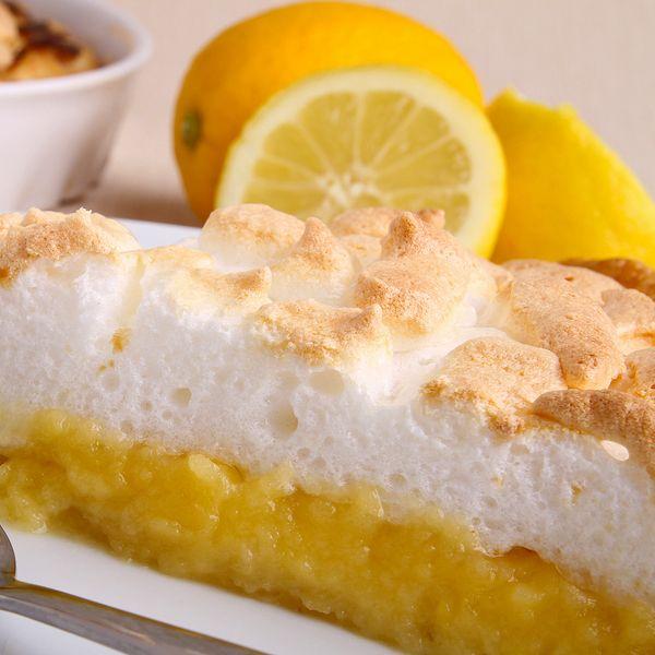 Magic lemon meringue pie