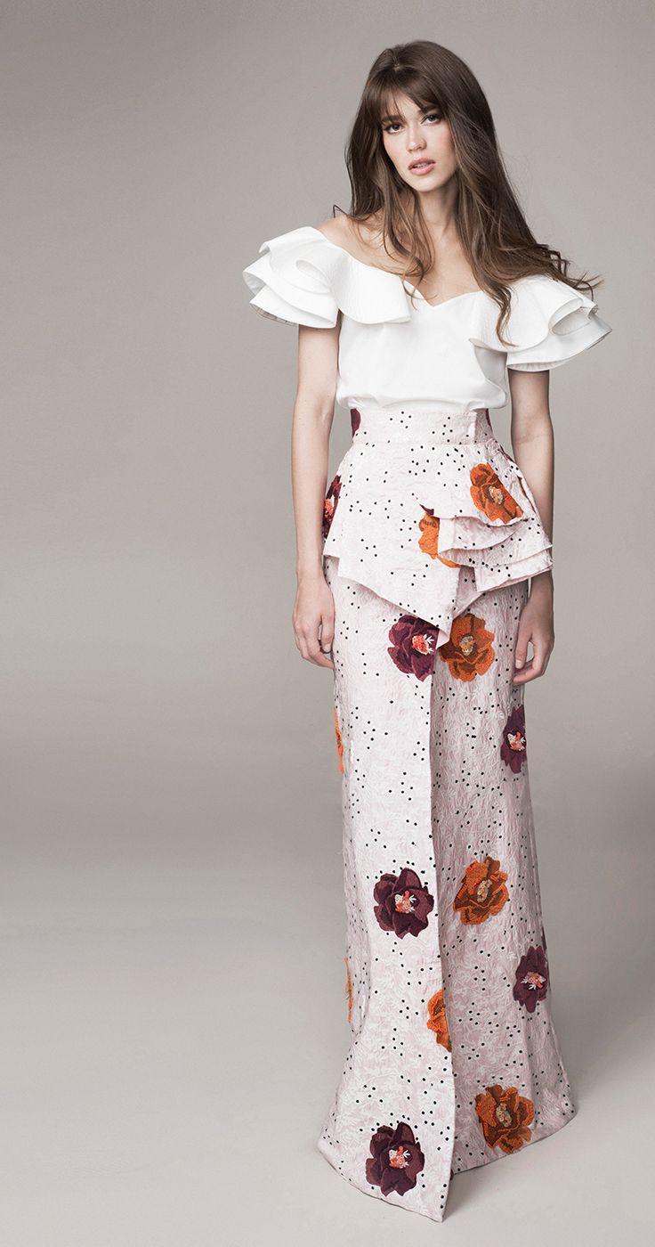 OBSESSED con los diseños de esta Colombiana! Johanna Ortiz Spring Summer 2016