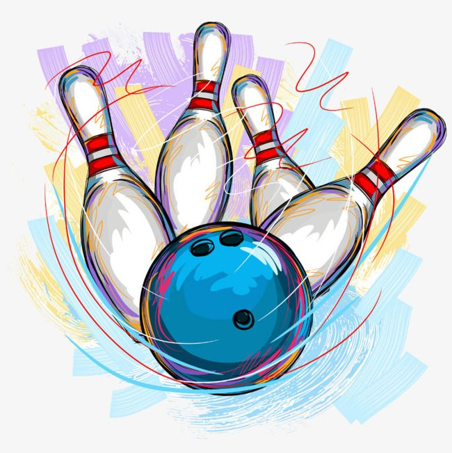 Bowling Material Picture Painted Bowling Pictures Bowling Pins Bowling Ball Art