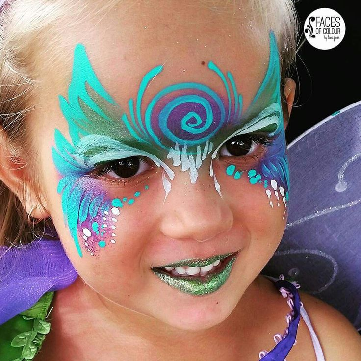 Fairy Face Painting.