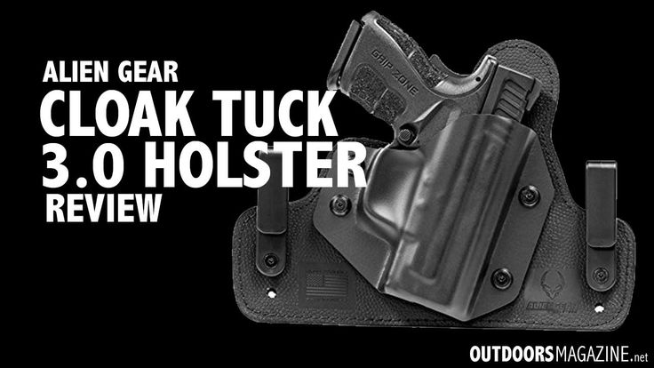 Alien Gear Holster Review - The Cloak Tuck 3.0 IWB - http://outdoorsmagazine.net/alien-gear-holster-review/