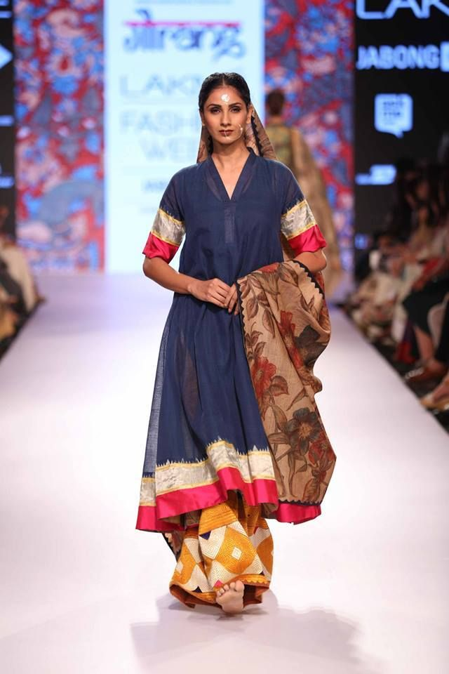 #Fashion #Redefined! #Indian #tradition, craft and textiles exhibited in a new #avatar by Designer Gaurang Shah, Shruti Sancheti and Soumitra at display at #LakmeFashionWeek! What are your takes on it?