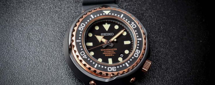 Seiko Marinemaster 1000m Emperor Tuna Rose Gold SBDX014 – The 50th Anniversary Celebration Watch – Specs & Price