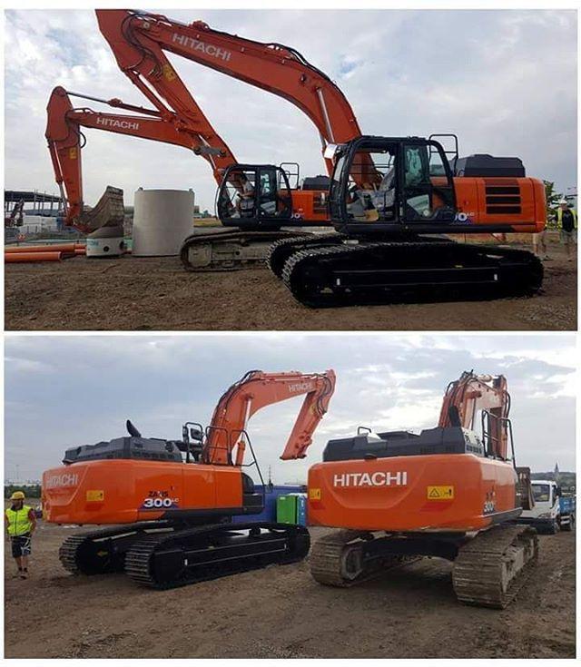 atm #hitachi #austrobaumaschinen #excavator