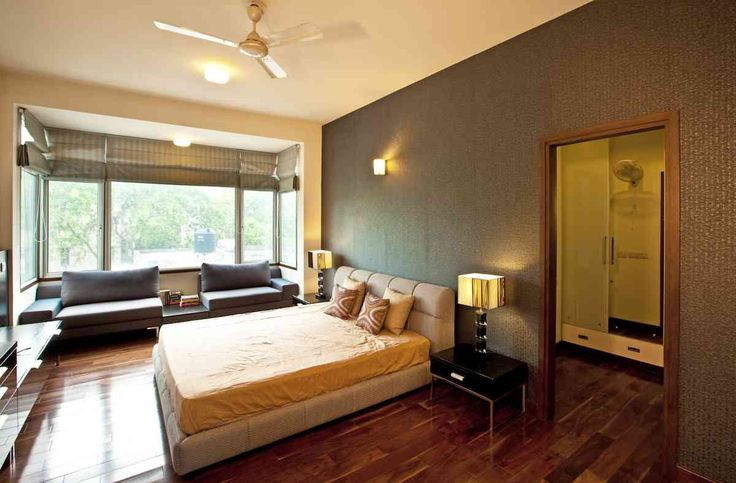 Master bed room Design; Residence by architect kumar moorthy associates