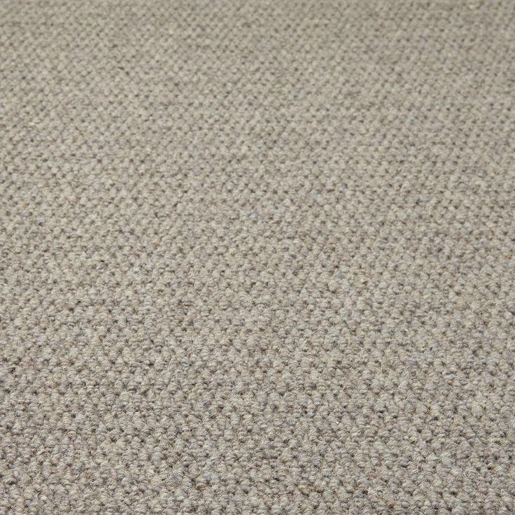 Zanzibar Deluxe Wool Carpet Grey Carpet Textured Carpet