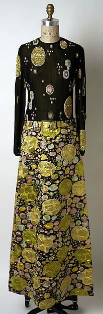 Evening dress James Galanos (American, born Philadelphia, Pennsylvania, 1924) Date: fall/winter 1969–70