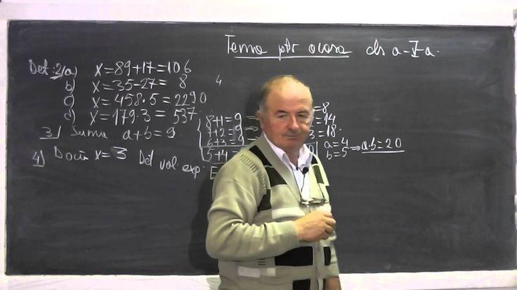 1/2 Lectia 617 - Calculul unor sume Gauss - Identitati - Rezolvam tema p...