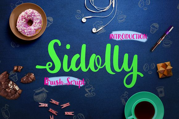 Sidolly Script by vero. on Creative Market