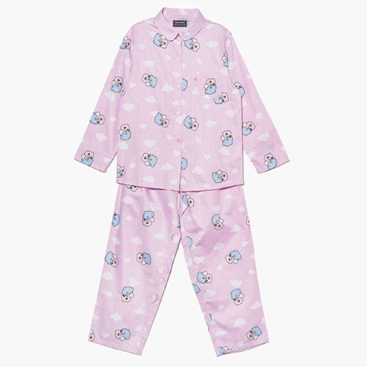 Kakao Friends Cozy Cloud Pajama Women APeach Home Wear Sleepwear Free Size  #KakaoFriends #PajamaSets #Everyday