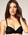 £11 ASOS twist front padded plunge bikini top