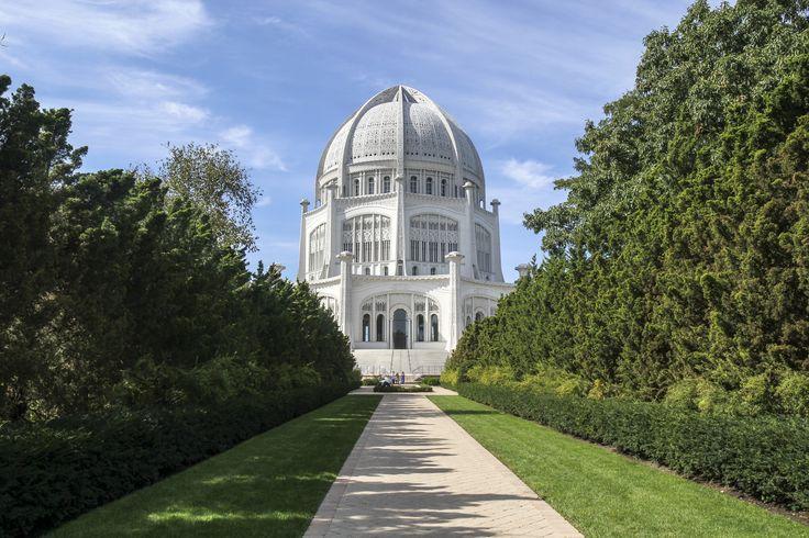 Wilmette, Illinois: Bahá'í House of Worship (=)