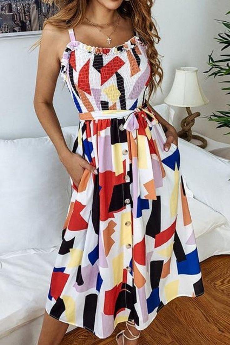Boho Beach Summer Dress Women 2019 Summer Dresses For Women Cheap Summer Dresses Fashion [ 1102 x 735 Pixel ]