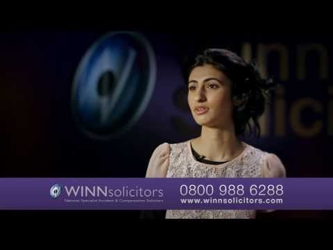 Nadia was a passenger in a car accident. She called Winns and won - You can too!  To find out how Winns could help you, Live Chat with us now, here: http://on.fb.me/16hM0nA