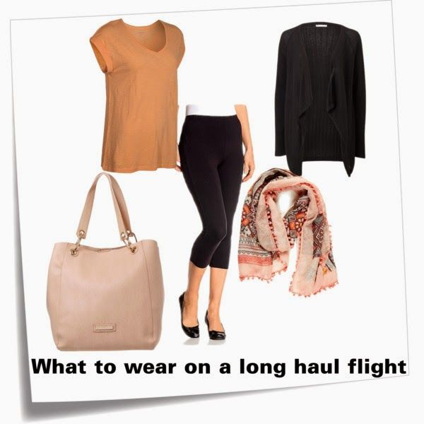 It's time...: for what to wear on a long haul flight