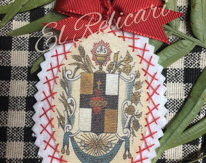Santa Rita De Cascia Con Imagenes Etsy Bordado Santos