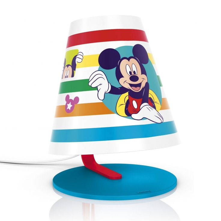 Philips Disney's Mickey Mouse Children's LED Table Lamp from Litecraft