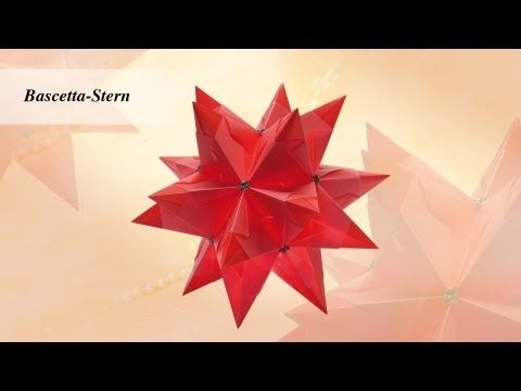 Ideen mit Herz - Origami-Stern - Bascetta-Stern, My Crafts and DIY Projects