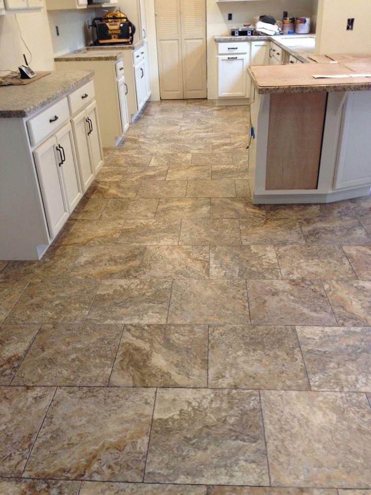 Vinyl tile flooring installation cost per square foot for Vinyl flooring installation