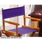 Purple Seat and Back for Director's Chair-Cover Only