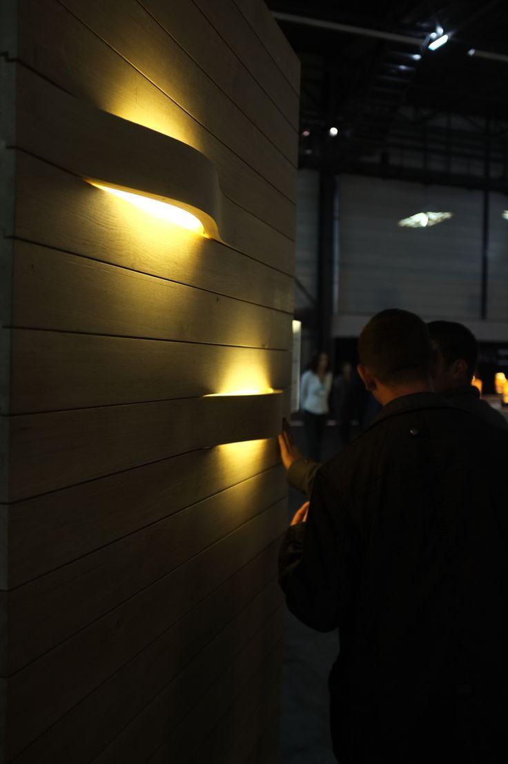 Bois et lumière design Exposition salon maison bois d'Angers LED / Daney Factory:
