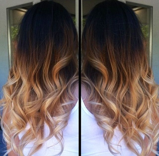 11 best hairy styles images on pinterest hair color long hair and gorgeous ombre hair girls long curly wavy blonde brown hair long brunette mild wavy solutioingenieria Gallery