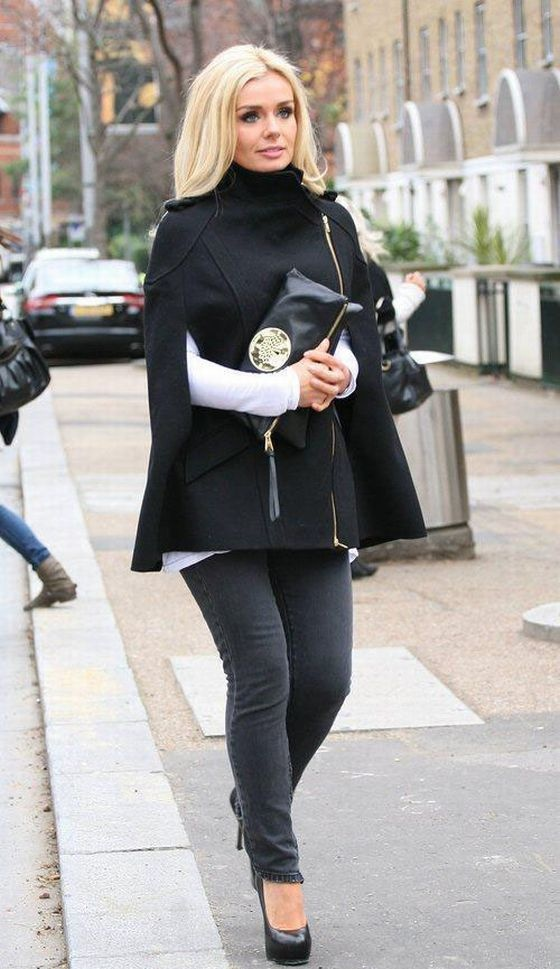 katherine jenkins - love this outfit