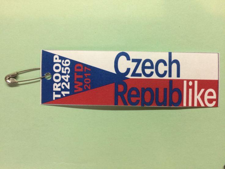 Czech Republic- World Thinking Day - SWAPS Tourism slogan: Czech Republike