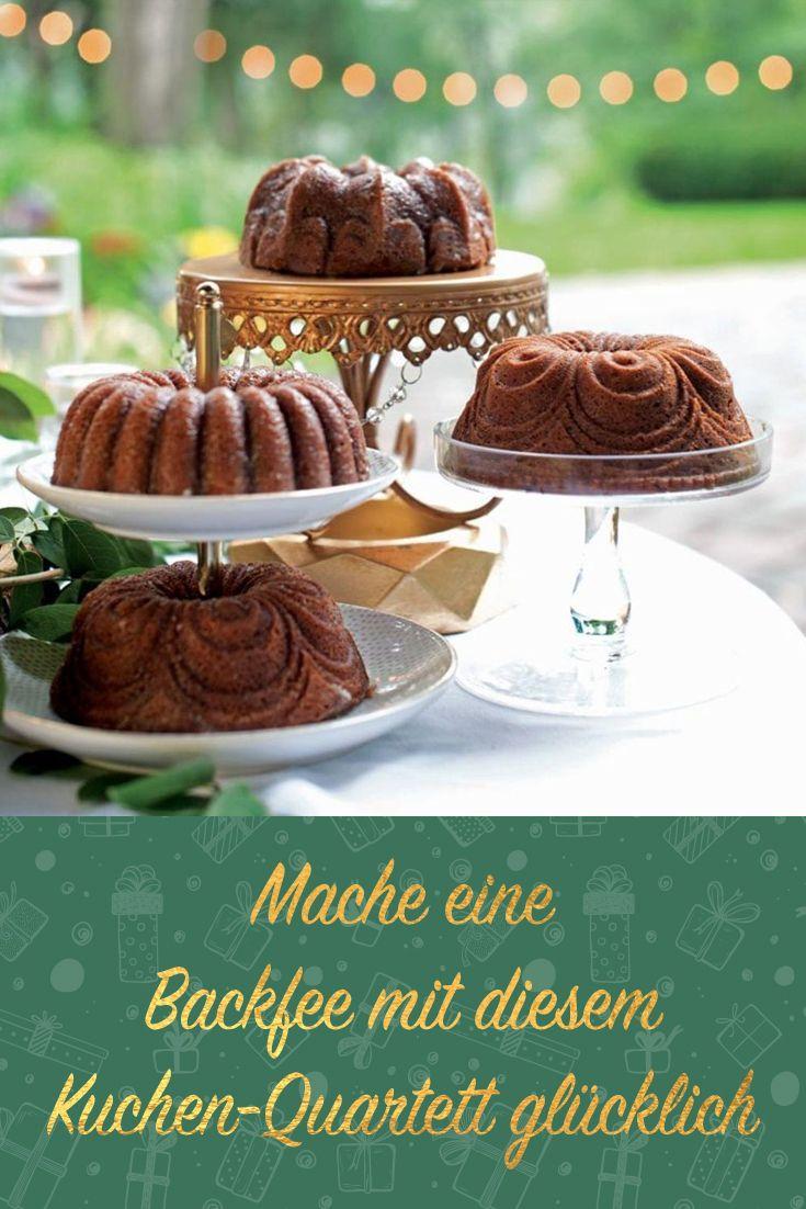 Mache Eine Backfee Mit Diesem Kuchen Quartett Glucklich
