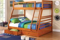 Coaster Ogletown Twin Over Full Bunk Beds