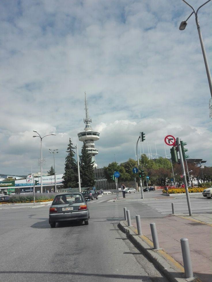 Ote tower. Thessaloniki