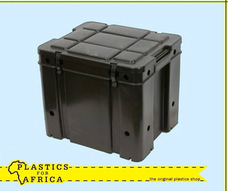 The holidays are around the corner. Be prepared with this strong box and clip on lid, which is ideal for safaris and camping. Visit your nearest #PlasticsforAfrica branch. #Storage