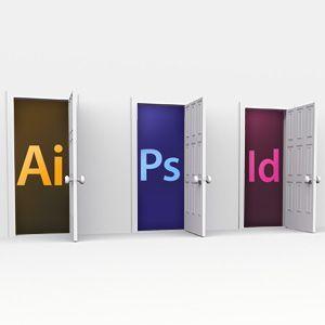 When to Use Adobe Photoshop vs. Illustrator vs. InDesign