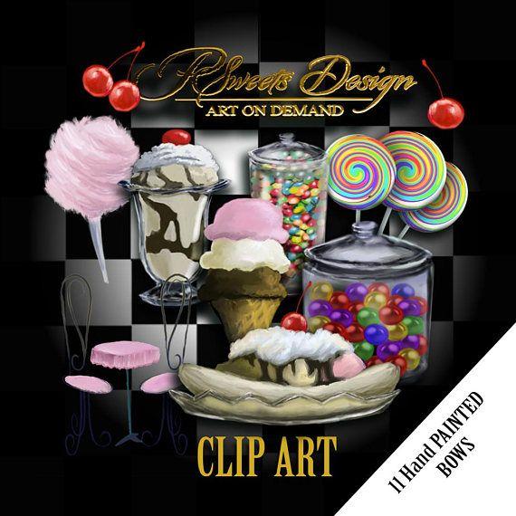 Ice Cream Shop Clipart  Awsome