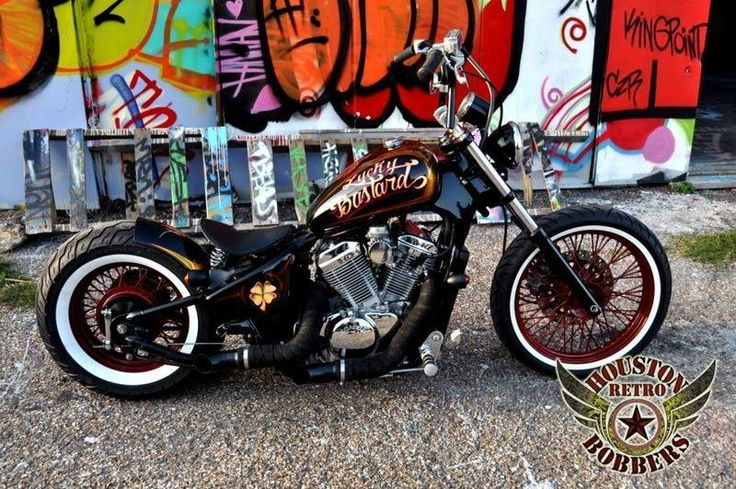 Honda Shadow VT 600 by Houston Retro Bobbers