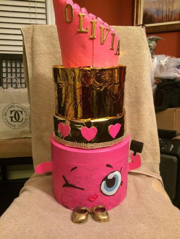 valentine paper hat