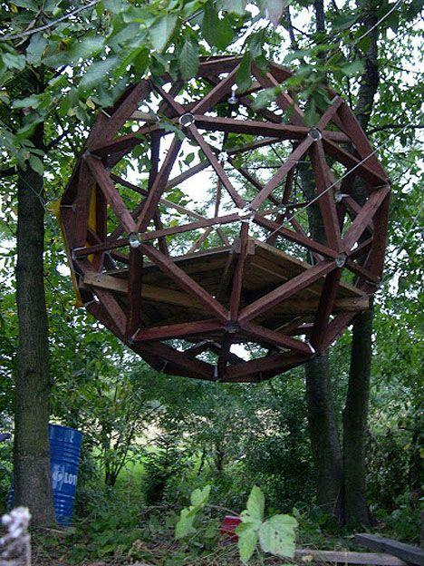 Modern Treehouses Geodesic