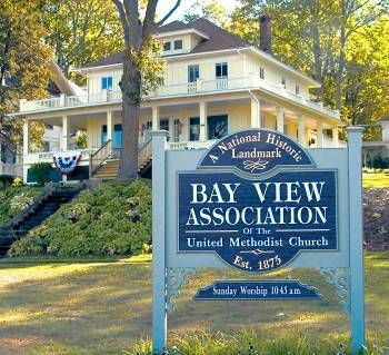 If you love Victorian homes, visit the Bay View area just minutes North of Petoskey, Michigan.