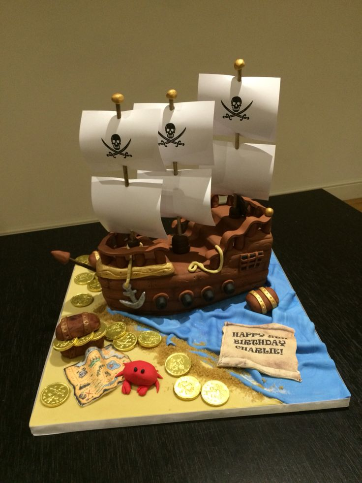 Boat Wedding Cake