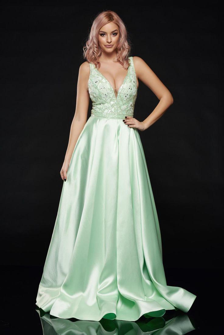 Sherri Hill 50964 Green Dress