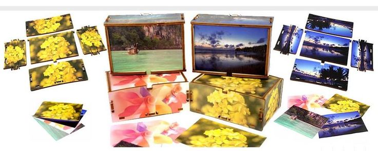 CROMOBOX, le scatole in legno decorate e personalizzate.