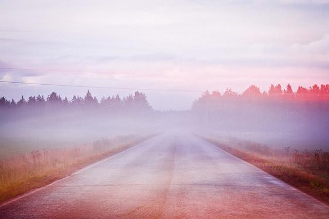 Road by Joona-Pekka Hirvonen, via Flickr: Pastel Haze, Joonapekka Wild, 15 Inspiration, Color, Photography Image, Open Roads, Joona Pekka Hirvonen, Mornings Fog, Joonapekka Hirvonen