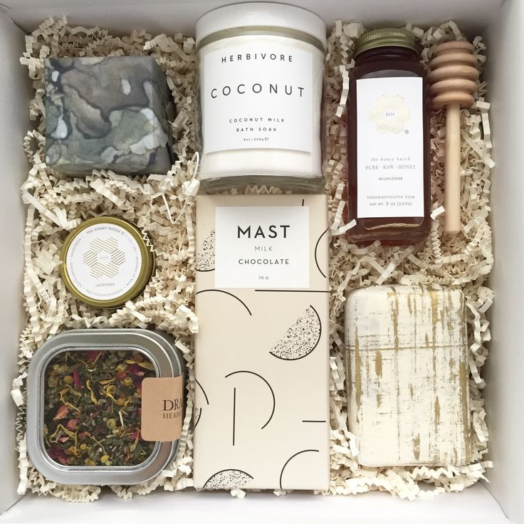 EAT | Fill a beautiful Teak & Twine gift box with any assortment of yummy things.