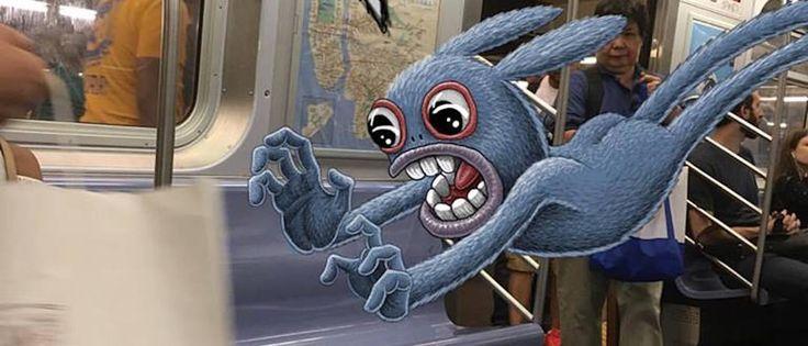 Τα φανταστικά πλάσματα του Μετρό της Ν. Υόρκης
