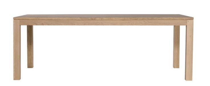 Booknäs tammipöytä 220 x 105