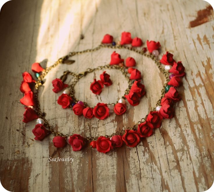 Red Roses by SeaJewelry