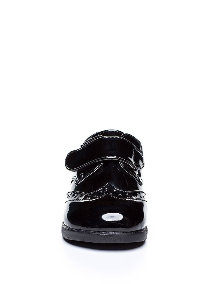 Baby boys patent black shoes   Boys Paisley of London shoes - Marcell   Page boy shoes     Roco Clothing